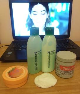 Night Time Routine Skincare